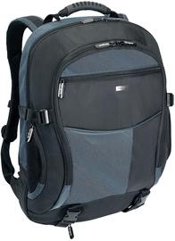 """Targus Atmosphere Laptop Backpack 17-18"""" Black/Blue"""