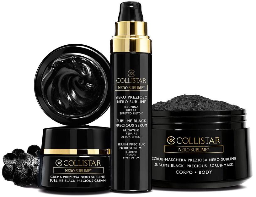 Collistar Black Sublime Precious Body Scrub Mask 450g