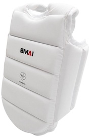 SMAI Kids Chest Protector WKF U14 White S