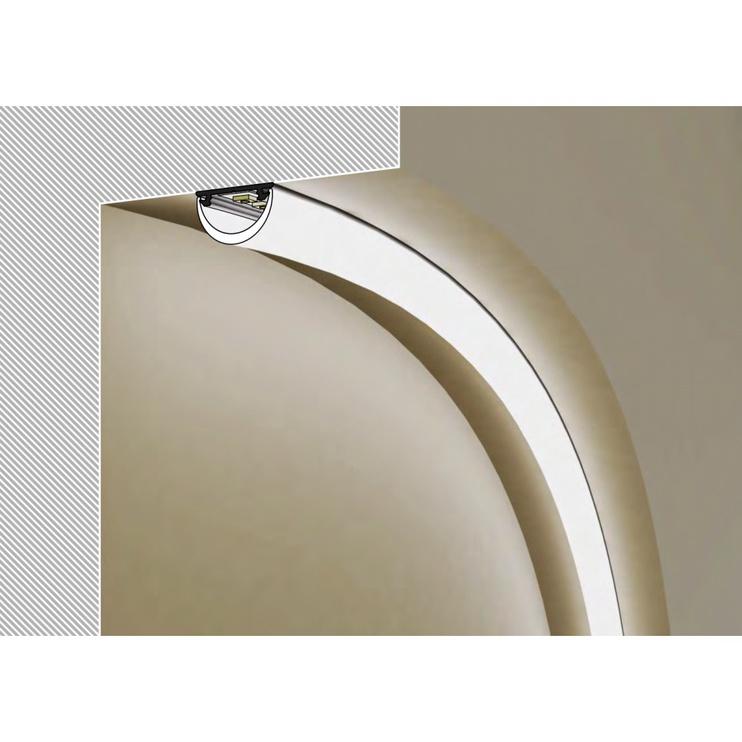 Topmet ARC12 Lamp Profile 2m
