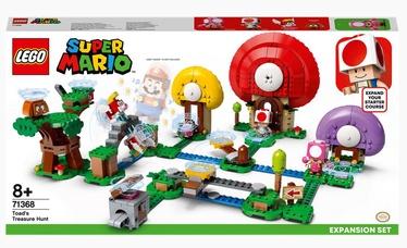 Конструктор LEGO®Super Mario Погоня за сокровищами Тоада. Дополнительный набор 71368