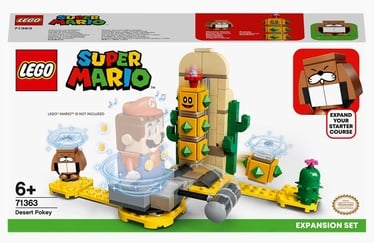 Конструктор LEGO Super Mario Поки из пустыни. Дополнительный набор 71363, 180 шт.