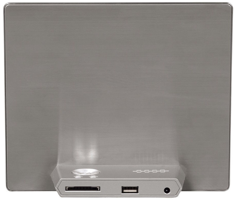 "Hama Digital Photo Frame 8.0"" Slim Steel Silver"