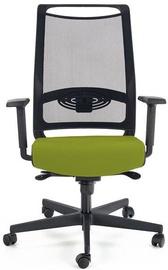 Офисный стул Halmar Bravo Office C-11, черный/зеленый