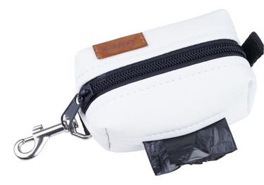 Amiplay Lincoln Waste Bags Dispenser White 9x5x4cm