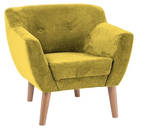 Signal Meble Bergen 1 Armchair Yellow