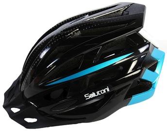 Шлем Volare Salutoni, синий/черный, 540 - 580 мм