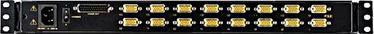 Aten LCD 16-port KVM Switch 1U Rack CL1016M