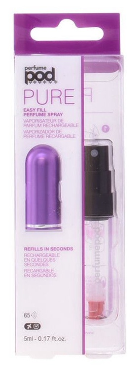 Travalo Perfume Pod Refillable Flacon 5ml Purple