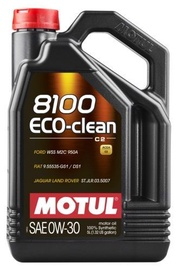 Motul 8100 Eco Clean 0W30 Motor Oil 5l