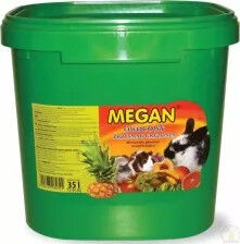 Barība grauzējiem Megan Megan