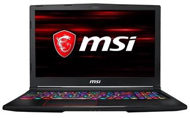 Nešiojamas kompiuteris MSI GE63VR Raider RGB 7RE-033