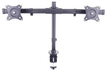 """Televizoriaus laikiklis Multibrackets Dual Desk Mount 15-27"""" Black"""