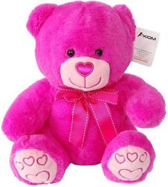 Axiom Teddy Bear Pink 27cm