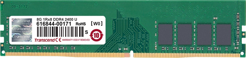 Transcend JetRam DDR4 UDIMM Series 8GB 2400MHz CL17 DDR4 JM2400HLB-8G