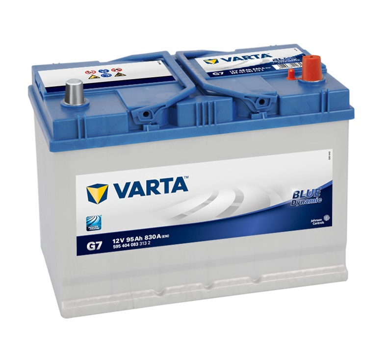 Аккумулятор Varta BD G7, 12 В, 95 Ач, 830 а
