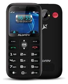 Мобильный телефон Allview D3 Senior, черный, 8MB/160MB