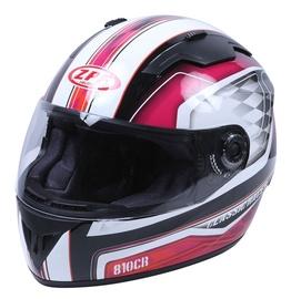Motociklininko šalmas DP810, L dydis