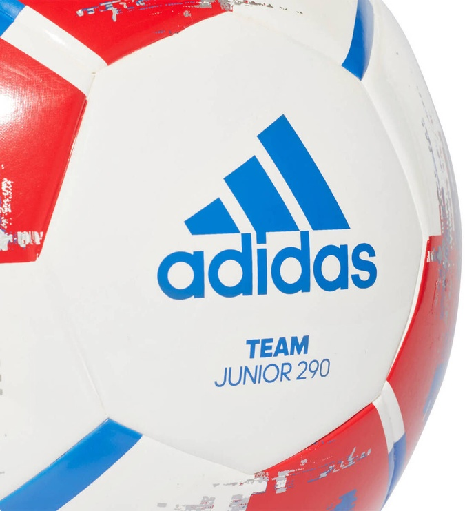 Adidas Team Junior 290 Ball White/Red Size 4