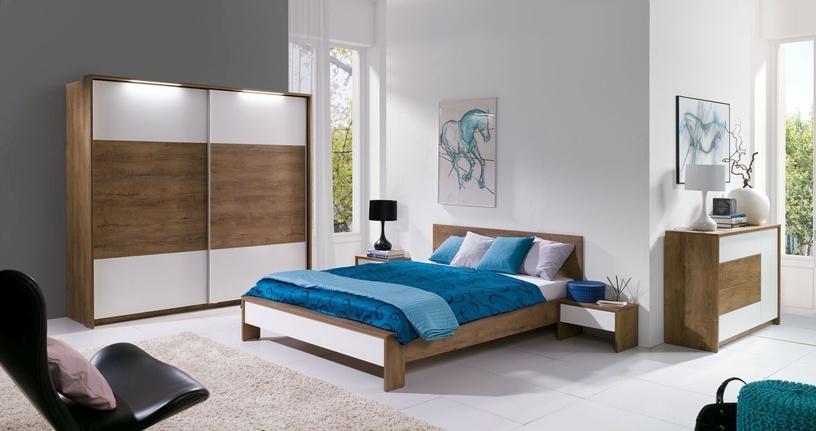 Miegamojo baldų komplektas Maridex Latika Gray