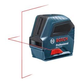 Lazerinis nivelyras Bosch GLL 2-10, raudonas