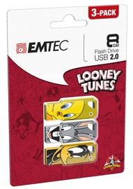 Emtec M750 Looney Toons 8GB USB 2.0 Pack 3
