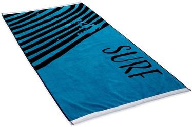 Rätik DecoKing Surf, sinine/must, 180 cm x 90 cm