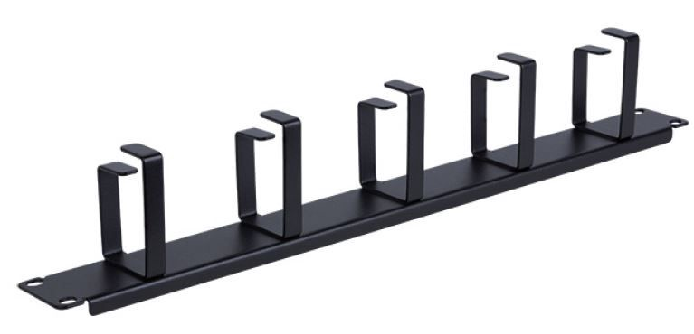 Linkbasic Cable Management Panel 19'' Black