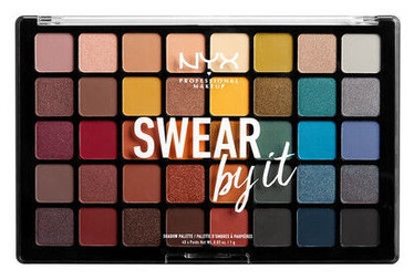 Тени для глаз NYX Swear By It Shadow Palette, 40x1 г