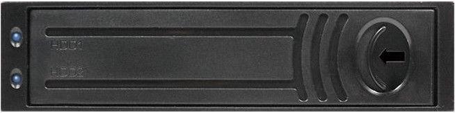 Chieftec ATM-1322S-RD 3.5'' Bay for 2x 2.5'' SATA HDD Aluminium