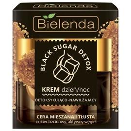 Bielenda Black Sugar Detox Face Cream Day/Night 50ml