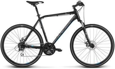 "Kross Evado 4.0 XL 28"" Black Blue Matte 20"