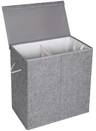 Songmics Laundry Basket 60x36x66cm Grey