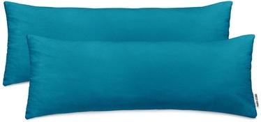 DecoKing Amber Pillowcase 40x145 Blue Sapphire 2pcs