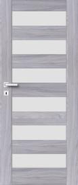 Полотно межкомнатной двери PerfectDoor ERIE 01, серый, 203.5 см x 84.4 см x 4 см
