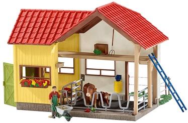 Schleich Barn With Animals And Accessories 42334