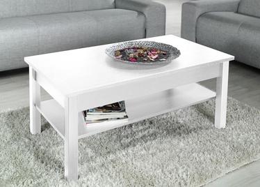 Kafijas galdiņš Cama Meble Uni, balta, 1100x600x470 mm