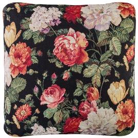 Home4you Holly Globe Pillow 50x50cm Dark/Roses
