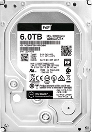 Western Digital Black 6TB 7200RPM SATAIII 256MB WD6003FZBX