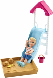 Mattel Barbie Skipper Babysitters INC Doll & Playset FXG96