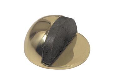 Balsts Metal-Bud Door Stopper Brass
