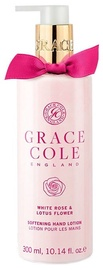 Grace Cole Softening Hand Lotion 300ml White Rose & Lotus Flower