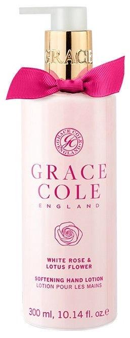 Grace Cole Softening Hand Lotion 300ml White Rose & Lotus Flower