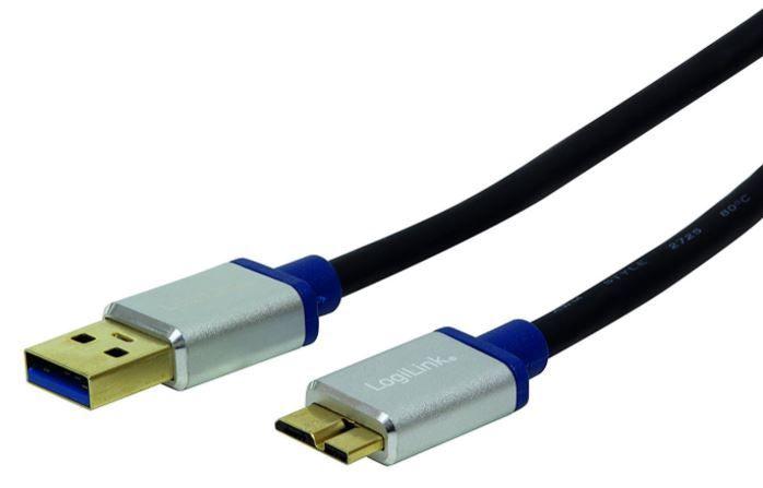 LogiLink Cable USB / Micro USB Black 1m