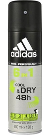 Adidas 6in1 Cool & Dry 48h 200ml Antiperspirant