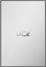 LaCie Drive 1TB USB 3.0 Moon Silver