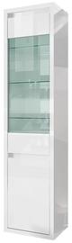 Tuckano Glance Showcase 500x2040x400mm White