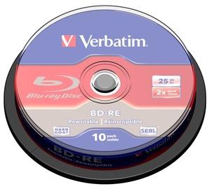 Verbatim BD-RE 2X 25GB 10 Pack Spindle