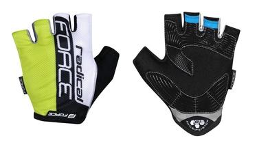 Force Radical Short Gloves Yellow/White/Black L