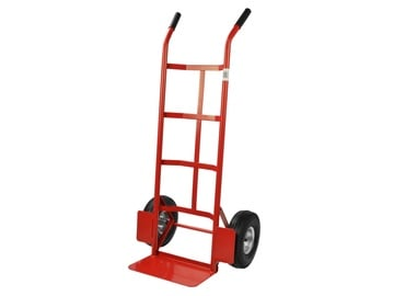 Geko Hand Trolley 200kg 350x180mm Red